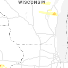 Regional Hail Map for Madison, WI - Friday, June 18, 2021