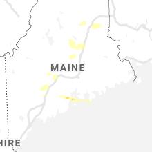 Regional Hail Map for Bangor, ME - Saturday, June 19, 2021