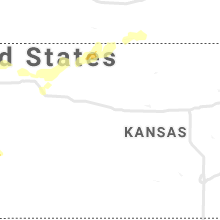 Regional Hail Map for Hays, KS - Saturday, June 19, 2021