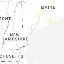 Regional Hail Map for Portland, ME - Saturday, June 19, 2021