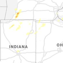 Regional Hail Map for Fort Wayne, IN - Sunday, June 20, 2021