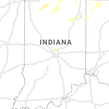 Regional Hail Map for Indianapolis, IN - Sunday, June 20, 2021