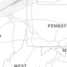 Regional Hail Map for Pittsburgh, PA - Sunday, June 20, 2021