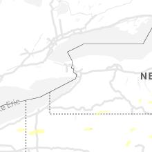 Regional Hail Map for Buffalo, NY - Monday, June 21, 2021