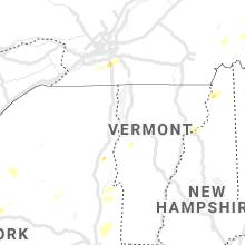 Regional Hail Map for Burlington, VT - Monday, June 21, 2021