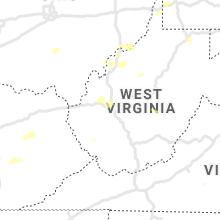 Regional Hail Map for Charleston, WV - Monday, June 21, 2021