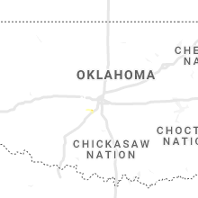 Regional Hail Map for Oklahoma City, OK - Monday, June 21, 2021