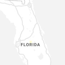 Regional Hail Map for Orlando, FL - Monday, June 21, 2021