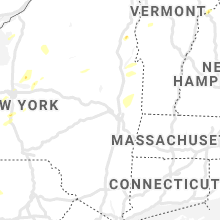 Regional Hail Map for Schenectady, NY - Monday, June 21, 2021