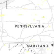 Regional Hail Map for State College, PA - Monday, June 21, 2021