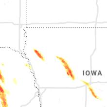Regional Hail Map for Storm Lake, IA - Tuesday, June 22, 2021