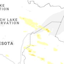 Regional Hail Map for Duluth, MN - Wednesday, June 23, 2021