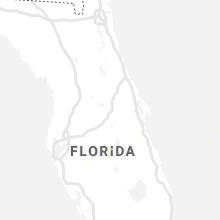 Regional Hail Map for Orlando, FL - Wednesday, June 23, 2021