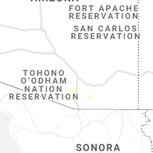 Regional Hail Map for Tucson, AZ - Wednesday, June 23, 2021