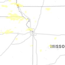 Regional Hail Map for Kansas City, MO - Thursday, June 24, 2021