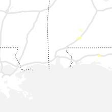 Regional Hail Map for Mobile, AL - Thursday, June 24, 2021