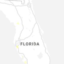 Regional Hail Map for Orlando, FL - Thursday, June 24, 2021