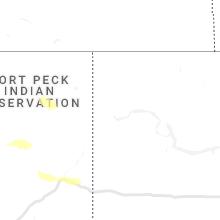 Regional Hail Map for Williston, ND - Thursday, June 24, 2021