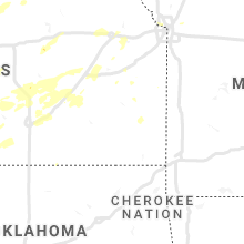 Regional Hail Map for Chanute, KS - Friday, June 25, 2021