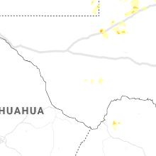 Regional Hail Map for Alpine, TX - Saturday, June 26, 2021