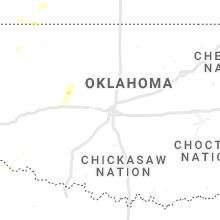 Regional Hail Map for Oklahoma City, OK - Saturday, June 26, 2021