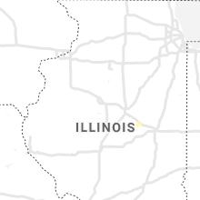 Regional Hail Map for Peoria, IL - Saturday, June 26, 2021