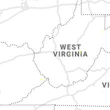 Regional Hail Map for Charleston, WV - Monday, June 28, 2021