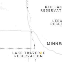 Regional Hail Map for Fargo, ND - Monday, June 28, 2021