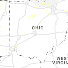 Regional Hail Map for Columbus, OH - Tuesday, June 29, 2021