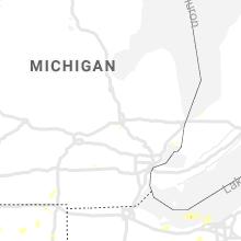 Regional Hail Map for Flint, MI - Tuesday, June 29, 2021