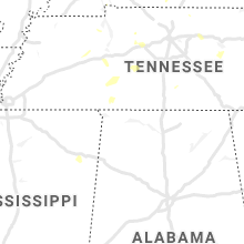 Regional Hail Map for Florence, AL - Tuesday, June 29, 2021