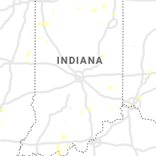 Regional Hail Map for Indianapolis, IN - Tuesday, June 29, 2021