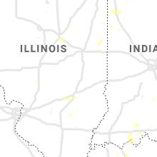 Regional Hail Map for Mattoon, IL - Tuesday, June 29, 2021