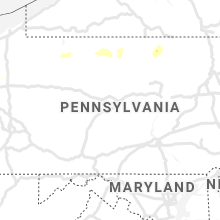Regional Hail Map for State College, PA - Tuesday, June 29, 2021