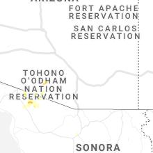 Regional Hail Map for Tucson, AZ - Tuesday, June 29, 2021