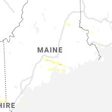 Regional Hail Map for Bangor, ME - Wednesday, June 30, 2021