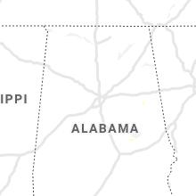 Regional Hail Map for Birmingham, AL - Wednesday, June 30, 2021