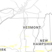 Regional Hail Map for Burlington, VT - Wednesday, June 30, 2021