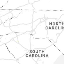 Regional Hail Map for Charlotte, NC - Wednesday, June 30, 2021