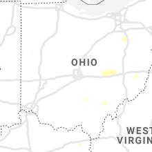 Regional Hail Map for Columbus, OH - Wednesday, June 30, 2021