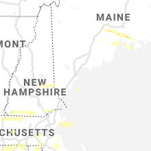 Regional Hail Map for Portland, ME - Wednesday, June 30, 2021