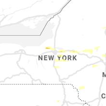 Regional Hail Map for Syracuse, NY - Wednesday, June 30, 2021