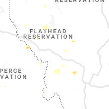 Regional Hail Map for Missoula, MT - Thursday, July 1, 2021