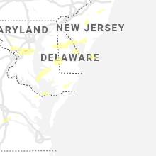 Regional Hail Map for Ocean City, MD - Thursday, July 1, 2021