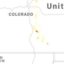 Hail Map for pueblo-co 2021-07-01
