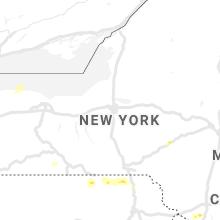 Regional Hail Map for Syracuse, NY - Friday, July 2, 2021