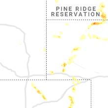 Regional Hail Map for Scottsbluff, NE - Saturday, July 3, 2021