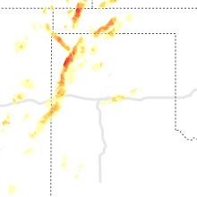 Hail Map for amarillo-tx 2021-07-04