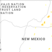 Regional Hail Map for Albuquerque, NM - Tuesday, July 6, 2021