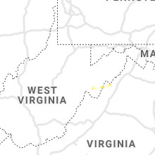 Regional Hail Map for Elkins, WV - Tuesday, July 6, 2021